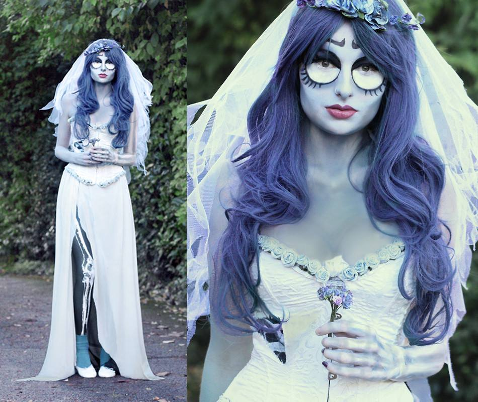 Corpse Bride Halloween Costume Diy.Lookbook X Black Milk Bmspookbook Halloween Contest Lb